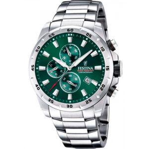 Festina ur med grøn skive